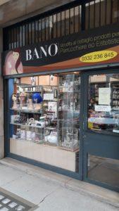 Bano Marco Varese, Viale Milano 23, prodotti per parrucchieri ed estetiste
