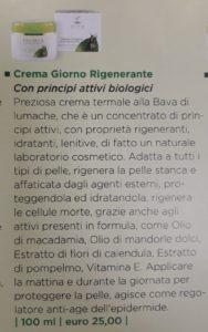 Crema Giorno Rigenerante € 25,00