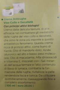 Crema Antirughe Viso Collo e Decolletè € 29,00
