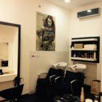 bano marco parrucchieri negozio via b luini varese poltrone