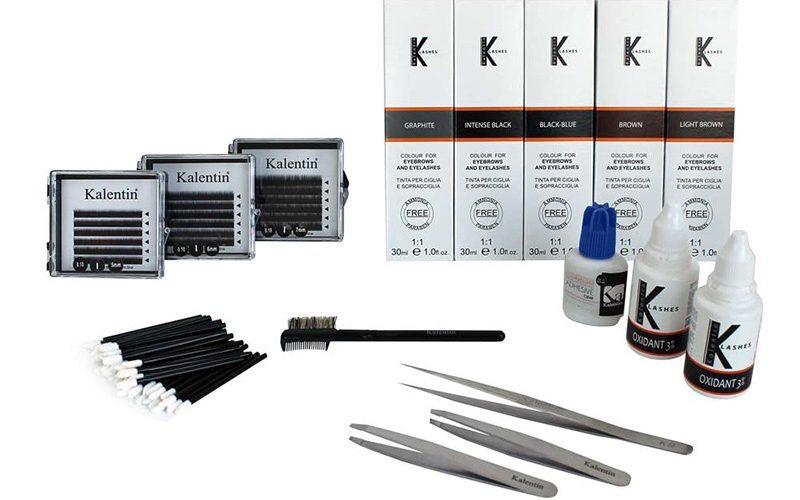 Kit Extension Sopracciglia e Colorazione Ciglia e Sopracciglia