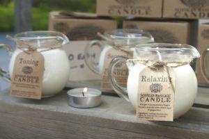candele massaggio aromaterapia
