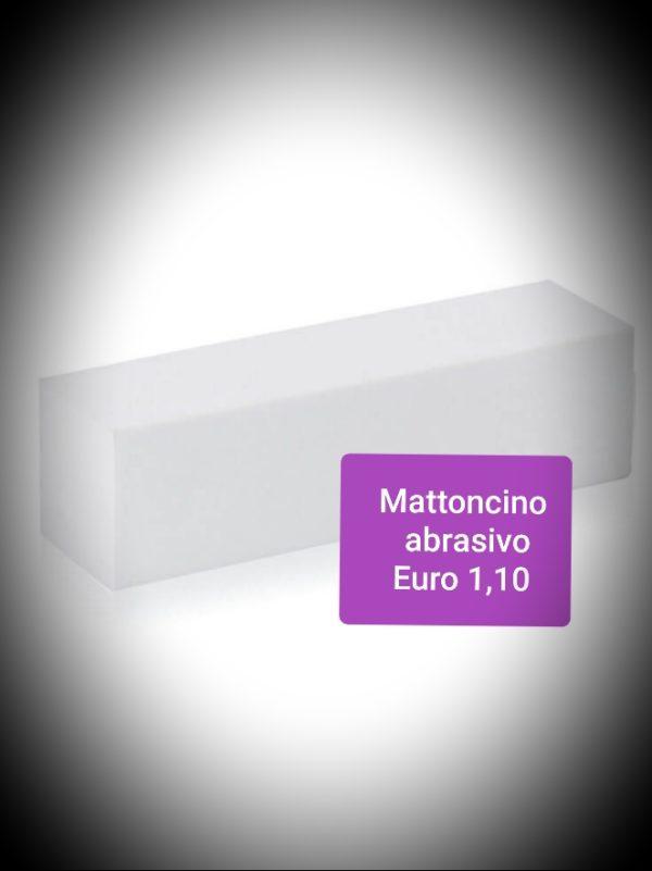 Mattoncino abrasivo