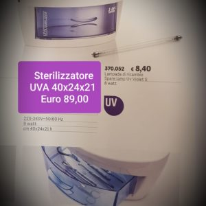 sterilizzatore UVA