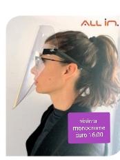 visiera monocrome